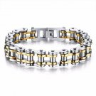 Bikers Bracelets Link Chain SILVER GOLD