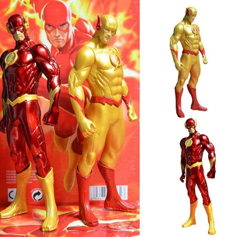 Yellow and Red The Flash PVC Action Figure