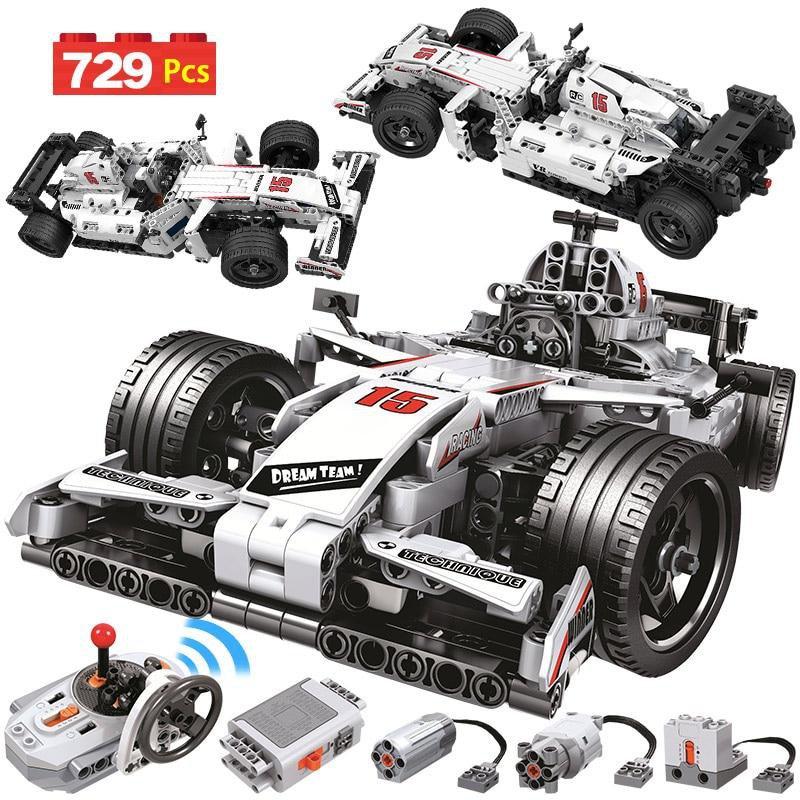 729PCS City Remote Control Car Toy