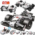 729PCS City Remote Control Car Toy