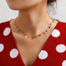 Necklace for Women Charming Colorful Stone Chain