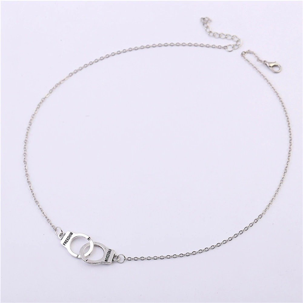 Handcuff Pendant Necklace