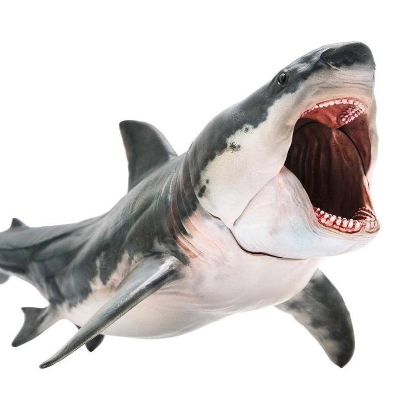 Megalodon Movie Shark Figure