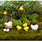 Hen Chicken Chick Egg Nest 10 Pcs