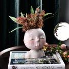 Human Head Vase Flower Pot