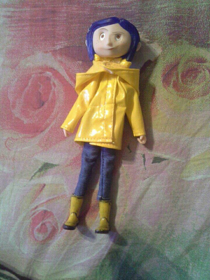 Coraline Doll Figure 18cm