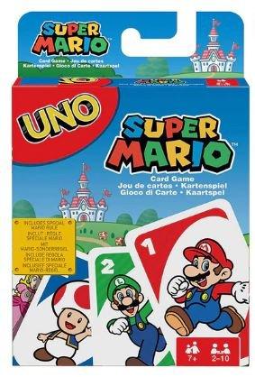 Super Mario Characters Print UNO Game