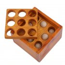 Box Cube Interlock Puzzle Game