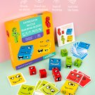 Face Changing Cube Puzzle Board Game