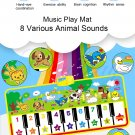 Musical Mat With Animal Voice 135x58cm
