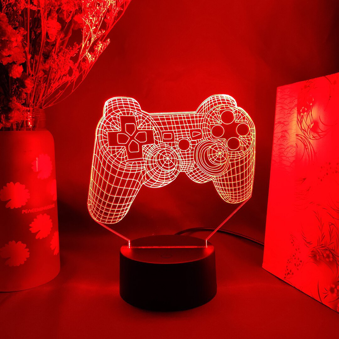 Console Controller LED Table Lamp