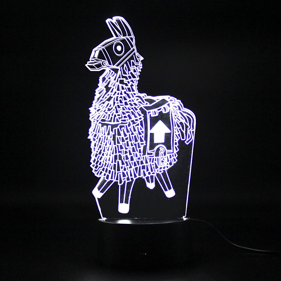 Fortnite Lama LED Table Lamp