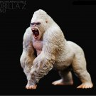 Alpha Male Mountain Gorilla Z Albino Action Figure