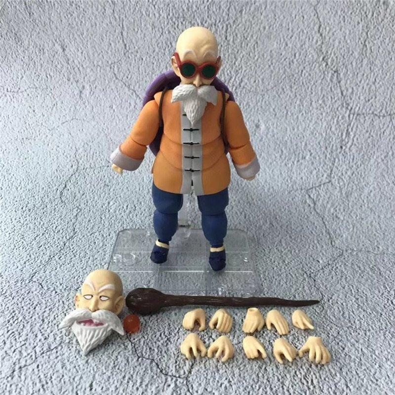 14cm Dragon Ball Master Roshi Figurine