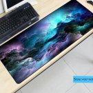 Blue Purple Cloud Space 400X900X5MM Mouse Pad