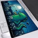 Cute Godzilla 400X900X4MM Mouse Pad