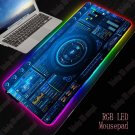 DJ Controller RGB 400X900X4MM Mouse Pad