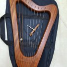 NEW DESIGN 10 STRING LYRE HARP WITH FREE EXTRA STRING SET TUNNING KEY AND BAG