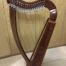 New Rosewood 19 Strings Harp with Free Bag and Tuning Key