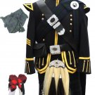 Pipe Band Uniform Outfits Scottish Pipers Military Doublet Jacket & Kilt Outfits