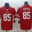 Men's 49ers 85# George Kittle Color Rush Jersey Red