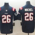 Men's New England Patriots 26# Sony Michel Limited Jersey Navy