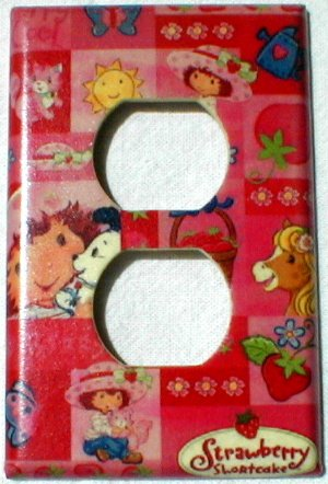 Strawberry Shortcake and Friends Collage Outlet Cover