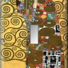 Klimt Tree of Life Detail Single Switch Plate