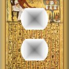 Ancient Egyptian Hieroglyphics Pharaoh Outlet Cover
