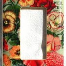 Vintage Little Gem Collection Flower Seed Packet Rocker Switch Plate