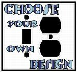Customize A Toggle Switch Plus Outlet Combo Plate With Your Choice Of Design!