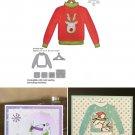 Sweater Hanger Cutting Dies Stencil Scrapbooking Craft Card Christmas Ornament