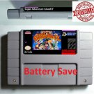 Super Adventure Island II 2 Super Nintendo SNES NTSC Game Cartridge US Version