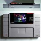 Nightmare Busters Super Nintendo SNES 16 Bit NTSC Action Game Card US Version