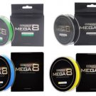 Fishing Line KastKing Authentic Mega8 274M/300Y 8 Strands Weaves PE Braided Fish