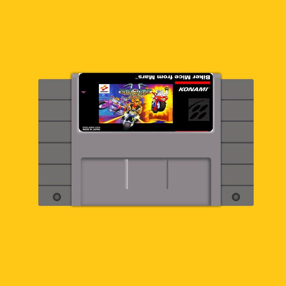 Biker Mice From Mars Super Nintendo SNES 16 Bit NTSC Cartridge Card US Version