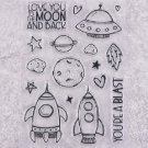 New Arrival UFO Rocket Metal Cutting Dies For Scrapbooking Card Embossed Craft