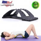 Back Stretcher Massager Posture Corrector Lumbar Spine Stretch Back Pain Relief