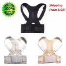 Adjustable Magnetic Posture Corrector Neoprene Corset Lumbar Support Correction