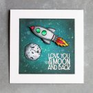 New Arrival UFO Alphabet Transparent Clear Stamp For Embossed Craft Scrapbooking