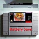 Ganpuru Gunmans Proof Super Nintendo SNES RPG NTSC Game Battery Save US Version