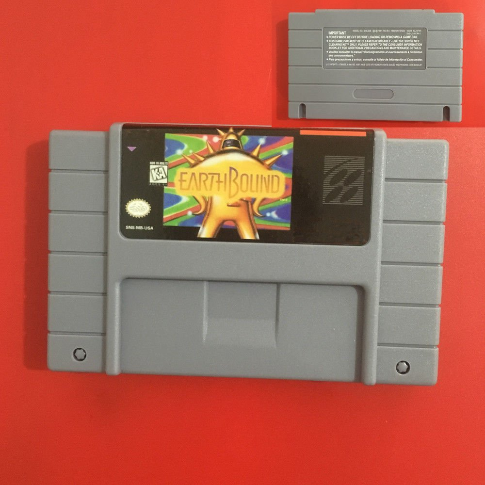 Hot Sale!! Earthbound SNES 16 Bit NTSC Game Card For USA Version Battery Save