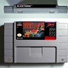 Blackthorne Super Nintendo SNES NTSC 16 Bit Action Game Cartridge US Version