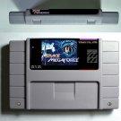 Space Megaforce Nintendo SNES Action Game Cartridge 16 Bit USA Version English