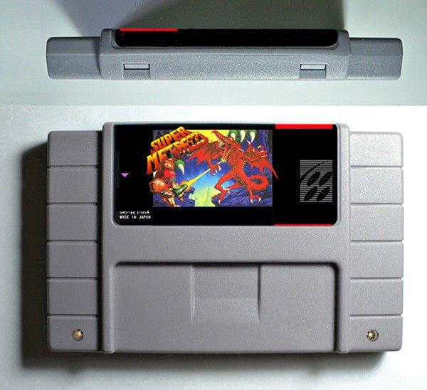 Super Metroid Super Nintendo SNES RPG Game Cartridge Battery Save US Version New