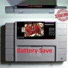 Secret of Evermore SNES Super Nintendo Game Cartridge Battery Save US Version