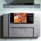 Flames of Eternity- RPG Game Battery Save Super Nintendo SNES 16 Bit US Version