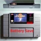 ActRaiser 1 Super Nintendo SNES 16 Bit NTSC ARPG Game Cartridge Battery Save US