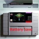 Super Metroid Phazon Super Nintendo SNES 16 Bit RPG Game Cartridge US Version