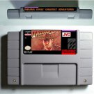 Indiana Jones' Greatest Adventures 1994 SNES Super Nintendo 16 NTSC US Version